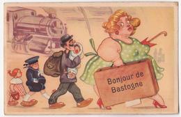 Bastogne: Carte à Système. - Bastogne