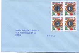 ITALIA - LETTERA VIAGGIATA - ANNO 1967 - F.TO 11X16  - LS - STORIA POSTALE - 1981-90: Storia Postale
