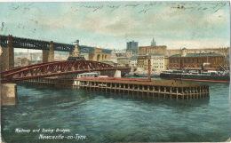 Newcasthe On Tyne Tyne And Wear Railway And Swing Bridges - Newcastle-upon-Tyne
