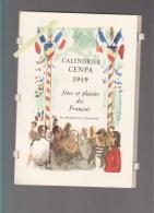 Calendrier Cenpa - 14 Aquarelles De Yves Brayer - Fetes Et Plaisirs Des Français - Arenes Nimes, Saint-hubert, , - Calendriers