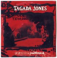 CD TAGADA JONES - Manipulé Tour 2001 Edition Limitée Ⓟ & © 2002 ENRAGE PRODUCTION - Punk