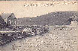 Route Et Le Lac De La Gileppe (1906, Marcovici) - Gileppe (Barrage)
