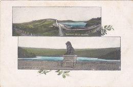 Panorama De La Gileppe (dos Blanc, Cachet Cire Wax... :´tout Va Bien´) - Gileppe (Barrage)