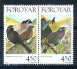 Faroe Islands 1998 Feroe / Birds MNH Aves Vögel Oiseaux /  Iy37   30-25 - Pájaros