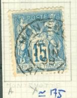 FRANCE - CAD MONTENOTTE (A)  (CATALOGUE MATHIEU) - Marcophilie (Timbres Détachés)