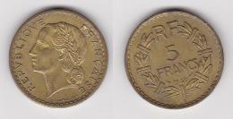 5 FRANCS LAVRILLIER 1946 C Bronze D'alu SUPERBE Cupro Alu (voir Scan) 2 - J. 5 Franchi