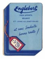 Dépliant Pub Pneus Englebert, Code De La Route, Panneaux De Signalisation - Publicités