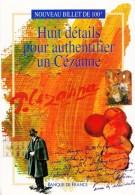 1 DEPLIANT DE PRESENTATION 2 VOLETS DU NOUVEAU BILLET FRANCAIS DE 100 FRANCS CEZANNE DOCUMENTATION BANQUE DE FRANCE - Specimen