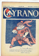 CYRANO 27 JANVIER 1929 SATIRIQUE HEBDOMADAIRE DESSINS GASSIER ROUSSEAU IBELS NOB PINCHON NORBERT JANY FALKE - Books, Magazines, Comics