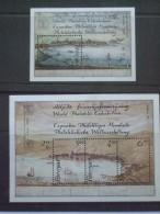 Faroe Islands Minisheets X 2 1987 Hafnia Stamp Exhibition MNH - Timbres