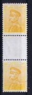 SERBIA  Mi Nr 100 Zwischenstegpaare MNH/** Postfrisch Selten. - Serbien