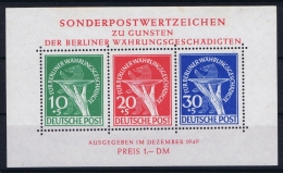 Germany Berlin 1949 Mi Nr 68 - 70 Not Used (*) - [5] Berlin