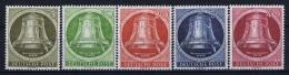 Germany Berlin 1951 Mi Nr  82 - 86 MNH/** Postfrisch 40pf = MH/*