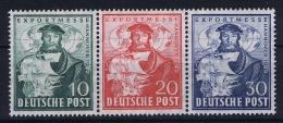 Germany Bi Zone 1949  Mi 103 - 105 MNH/**