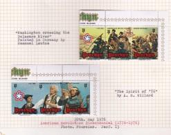 Cook Islands - Penrhyn SG 86-91 1976 Bicentenary Of American Revolution MNH - Cookeilanden