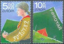 EUROPA CEPT - FAROE ISLANDS 2007 - Yvert #595/96 - MNH ** - Europa-CEPT