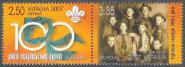 EUROPA CEPT - UCRANIA 2007 - Yvert #781/782 - MNH ** - Europa-CEPT