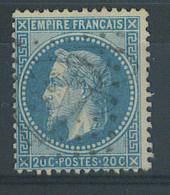 VEND BEAU TIMBRE DE FRANCE N°29B , G.C. 4220 (LA VILLE-AUX-CLERCS) !!!! - 1863-1870 Napoléon III Lauré