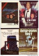 CINEMA - LOT DE 8 AFFICHES DE FILMS SUR CARTE : Le Conformisme, Gigolo, Le Dernier Métro... (Ref 2425) - Affiches Sur Carte