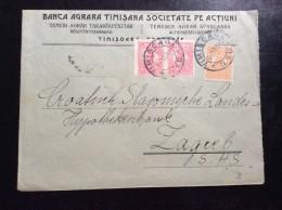 ROMANIA   TIMISOARA    1924. - 1918-1948 Ferdinand, Charles II & Michael