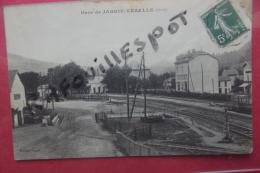 Cp Jarrie -vezelle Gare - Autres Communes