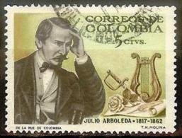COLOMBIA 1966.03.09 [1116-1] Julio Arboleda - Used - Colombia