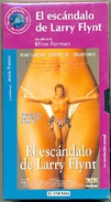 19-1vhs11. Película VHS El Escándalo De Larry Flynt - Videocesettes VHS