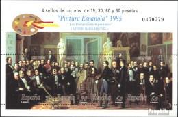 Espagne Bloc 61 (complète.Edition.) Oblitéré 1995 Peinture - Blocks & Kleinbögen