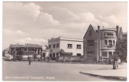 Bogota Colombia, Teusaquillo Neighborhood House Architecture, C1930s/40s Vintage Real Photo Postcard - Colombia
