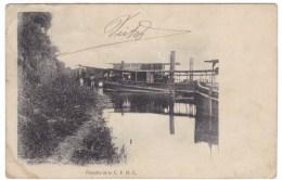 Belgian Congo, CFHC Comp Francais Du Haut Congo Upper Congo River Fleet, C1900s/10s Vintage Postcard - Belgian Congo - Other