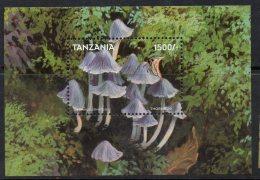 1998 Tanzania Fungi And Insects 2 Miniature Sheets Of 9  And 2 Souvenir Sheets MNH - Tansania (1964-...)