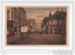 CPA - Folkestone - Angleterre - Sandgate Road-showing Town Hall - (ref 606) - Folkestone