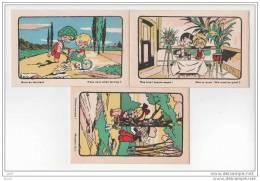 3 CPA - Illustrateur - (ref 1072) - 1900-1949