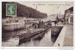 CPA - Morlaix - Torpilleur à La Sortie Des Ecluses - (29 Finistère) - (ref 1337) - Guerre