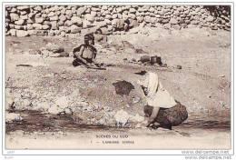 CPA - Algerie - Scene Du Sud - Laveuses Arabes  Afrique - (ref 1340) - Algérie