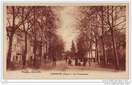 CPA - Condom - Les Promenades - (32 Gers) - (ref 1469) - Condom