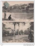 2 CPA - Tonneins - 1.coté Ouest 2.Les Promedes - (ref 43) - Tonneins