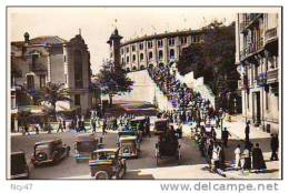 "Cpa  ( Espagne   )    SAN SEBASTIAN    """"  Subida A La Plaza De Toros '' Entrée Aux Arénes   ""   1954 - Spagna"