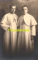 CARTE DE PHOTO HOMME RELIGIEUX HOMMES JEUNE GARCON JUMELLES    **  BARBAIX GAND ? GENT ? - Christianisme