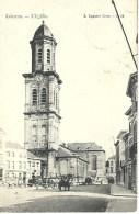 LOKEREN : L'Eglise - Cachet De La Poste 1907 - Lokeren
