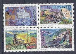 Canada, 1988 Mi 1079-1082** MNH Postfrisch - Unused Stamps