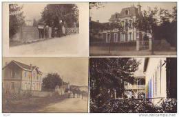 4 Cartes Photos  ( A   IDENTIFIER   ) - Cartoline