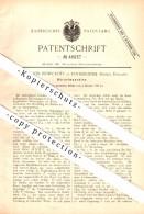 Original Patent - William Job Howcroft In Rotherhithe / London , 1888 , Crimper , Metal !!! - London