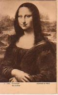 Peinture   99         Léonard De Vinci. La Joconde - Paintings