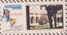 468 BUVARD FLAN LYONNAIS PROVENCE ARLES CLOITRE DE ST TROPHIME Coin Abimé - Zuivel