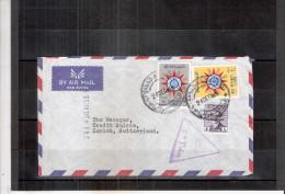 Lettre D'Irak Vers La Suisse - 1959 (à Voir) - Iraq