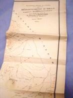 Carte Géographique Département D'ORAN-dressée Par ROGER LEONARD- époque Coloniale1952 - Geographical Maps