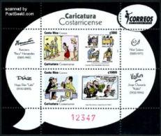Costa Rica 2011 Comics S/s, Mint NH, Art - Comics (except Disney) - Costa Rica