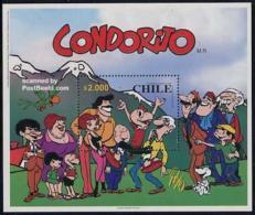 Chile 2000 Condorito S/s, Mint NH, Art - Comics (except Disney) - Chili