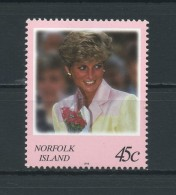 NORFOLK  ISLAND    1998    45c   Princess  Of  Wales    MNH - Isla Norfolk